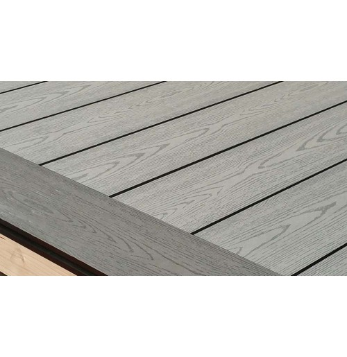 Composite decking board for Grey composite decking