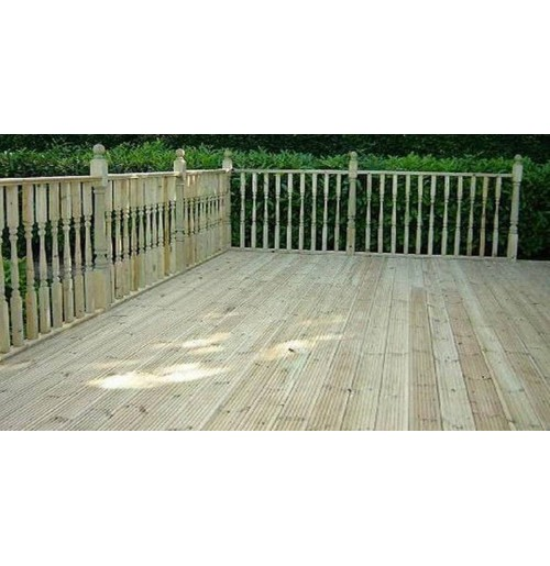 Decking board for 4m composite decking boards