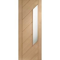 Internal Oak Monza with Obscure Glass