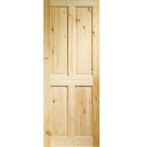 Internal Knotty Pine  4 Panel