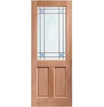 External Hardwood Dowelled 2XG Carroll Glass
