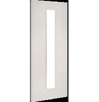 """Deanta """"Seville Clear Glazed"""" white primed door"""