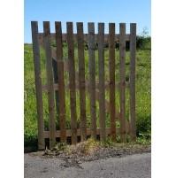 Slatted gates
