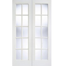 "LPD Doors ""SA Glazed Pairs"" White Primed"