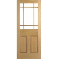 "LPD Doors ""Downham Unglazed"" Unfinished Oak"