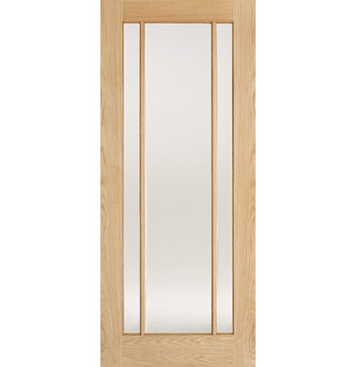 "LPD Doors ""Lincoln Glazed"" Pre finished Oak"