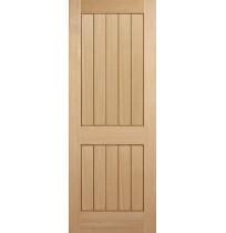 "LPD ""Mexicano 2 Panel"" Unfinished Internal Oak"