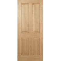 "LPD Doors ""Regency 4 Panel"" Unfinished Oak"