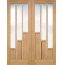 "LPD Doors ""Coventry Pairs"" Pre finished Internal Oak"