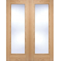 "LPD Doors ""Vancouver Pattern 10 Pair"" Internal Oak Pre finished"