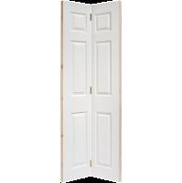"""LPD Doors """"Textured 6 Panel"""" Bi Fold"""