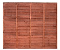 Lapped Fence Panel