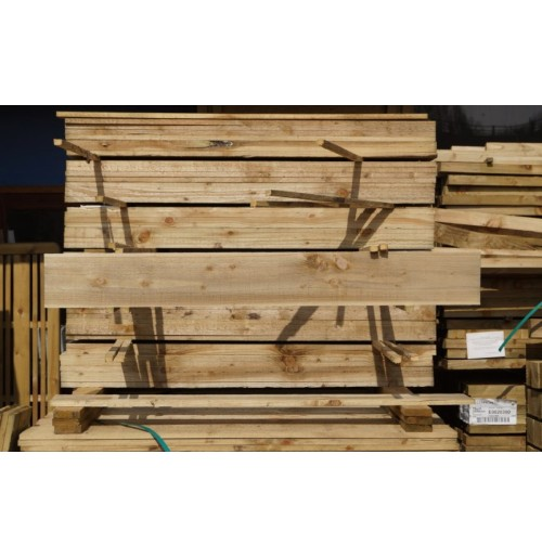 "Fence boards 6ft x 6"" (1.8mtr x 150mm)"