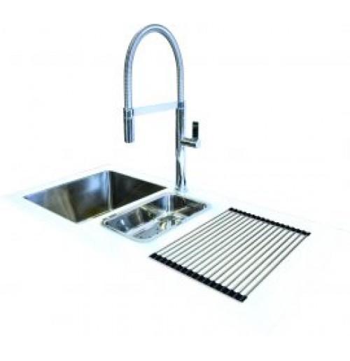 Discount diy White glass sink