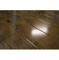 Hickory high gloss laminate flooring