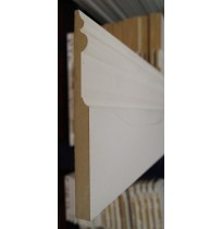 Victorian White primed Skirting Board