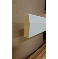 White primed Architrave (Chamfered)