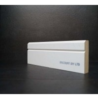 White primed Architrave (Contemporary)