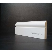 White primed Architrave (Torus)