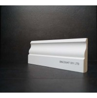 White primed Ogee Architrave (70mm)