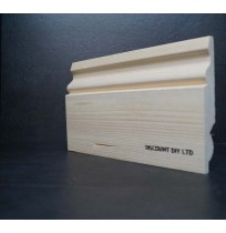 "Ogee Pine skirting 5"" (120mm)"