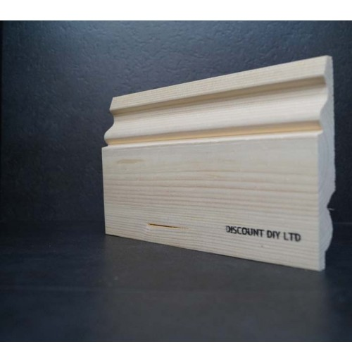 "Ogee Pine skirting 6"" (145mm)"