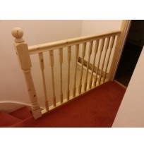 Pine Newel Post