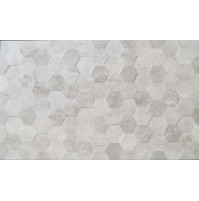 Lofthouse hex Steel concrete 3D Tile (BCT)