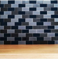 Lofthouse petrol Grey mosaic tile (BCT)