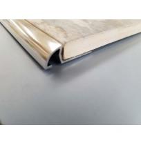 Quadrant round tile trim (Chrome)
