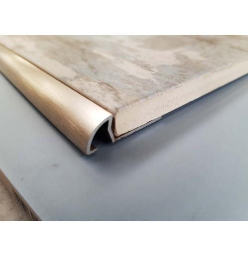 Quadrant round tile trim (Stainless steel)