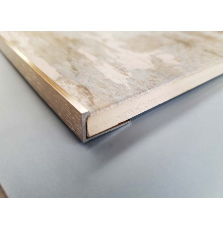 L shaped tile trim (Stainless steel)