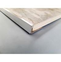 L shaped tile trim (Chrome)