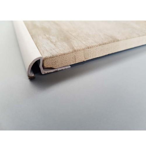 Quadrant round tile trim (White)