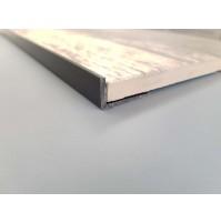 L shaped tile trim (Grey)